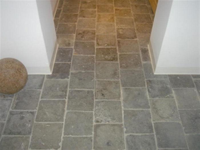 Interieur nikolas dhont - Keuken met cement tegels ...
